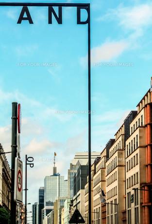 ブリュッセル旧市街の素材 [FYI00249835]
