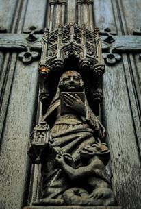 ブリュッセル旧市街教会の写真素材 [FYI00249842]