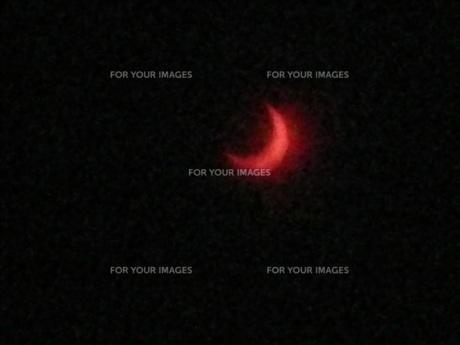 皆既日食の素材 [FYI00249866]