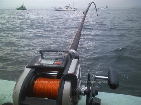 オオアジ釣りの写真素材 [FYI00249869]