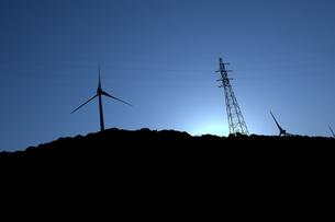 風力発電の写真素材 [FYI00249921]