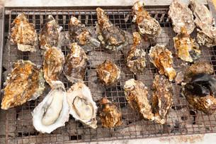 牡蠣焼きの写真素材 [FYI00249967]