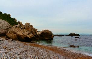 和歌山県 日本のエーゲ海 海岸の写真素材 [FYI00250749]