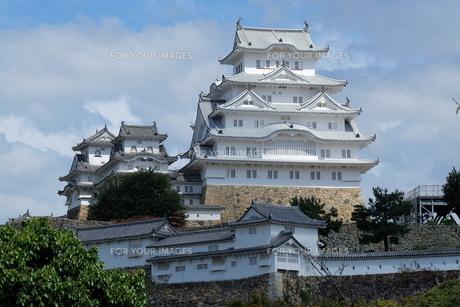 国宝 姫路城の写真素材 [FYI00250764]