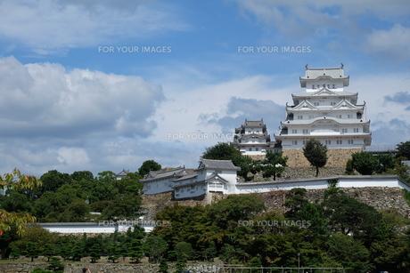 国宝 姫路城の写真素材 [FYI00250767]
