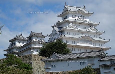 国宝 姫路城の写真素材 [FYI00250770]