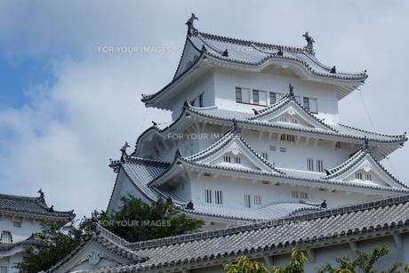 国宝 姫路城の写真素材 [FYI00250779]