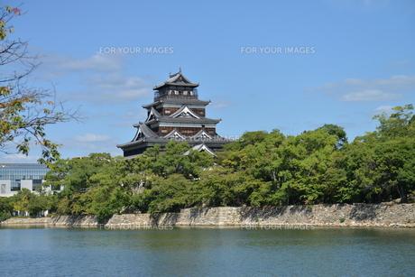 広島城の素材 [FYI00250812]