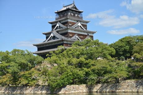 広島城の素材 [FYI00250815]