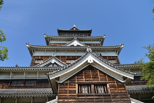 広島城の写真素材 [FYI00250821]