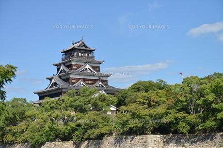 広島城の素材 [FYI00250824]
