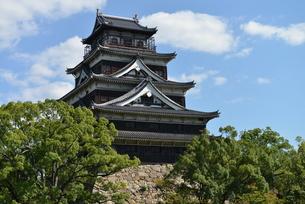 広島城の写真素材 [FYI00250825]
