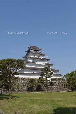 鶴ヶ城の素材 [FYI00250830]