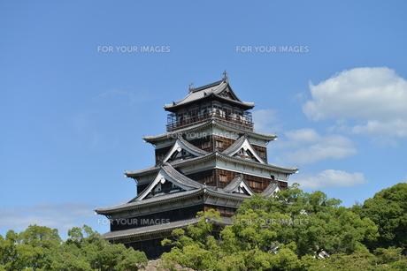 広島城の素材 [FYI00250832]
