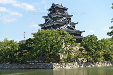 広島城の素材 [FYI00250833]