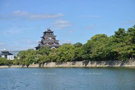 広島城の素材 [FYI00250836]