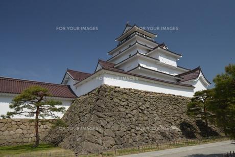 鶴ヶ城の素材 [FYI00250840]