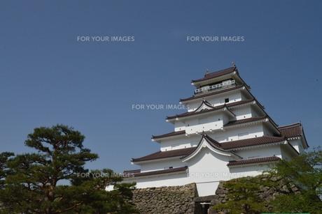 鶴ヶ城の素材 [FYI00250853]