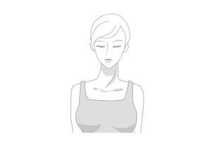 女性の顔・正面の写真素材 [FYI00250874]