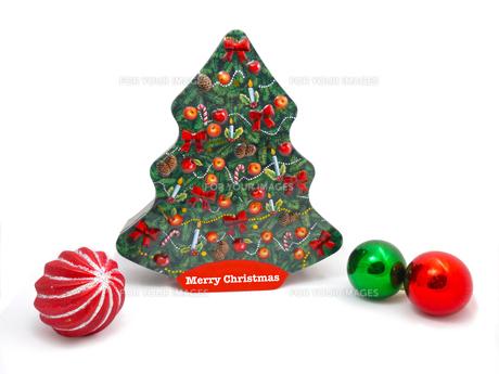 クリスマスのオブジェクトの写真素材 [FYI00250883]