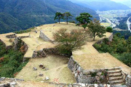 竹田城跡の写真素材 [FYI00251060]