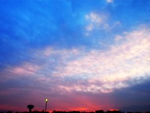 夜明け前の空の素材 [FYI00251066]