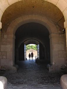 フォロロマーノの人影の写真素材 [FYI00251157]