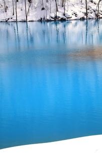 冬の美瑛川の写真素材 [FYI00251420]