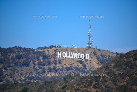 ハリウッドサインの写真素材 [FYI00251588]