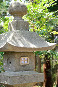 石灯籠の写真素材 [FYI00251597]