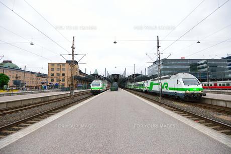 フィンランド鉄道の写真素材 [FYI00251649]