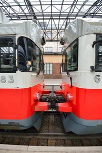 フィンランド鉄道の写真素材 [FYI00251666]