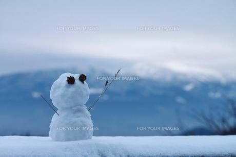雪だるまの写真素材 [FYI00252052]