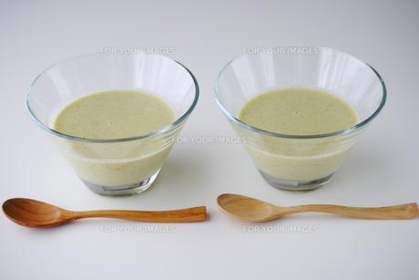 冷製スープの写真素材 [FYI00252682]