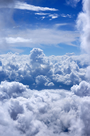 駒ヶ岳より望む雲海の写真素材 [FYI00253136]