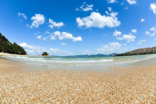 夏の砂浜の写真素材 [FYI00253423]