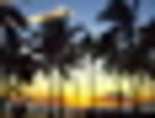 Kuhio Beach Sunsetの写真素材 [FYI00253460]