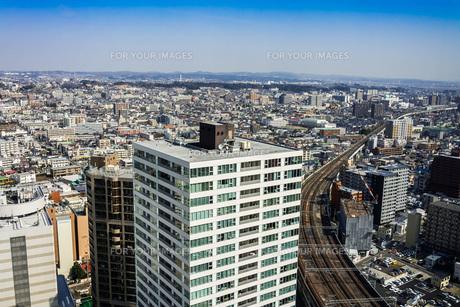 仙台市街を望むの写真素材 [FYI00254268]