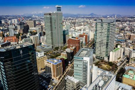 仙台市街を望むの写真素材 [FYI00254269]