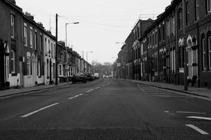 イギリスの街並みの写真素材 [FYI00254871]