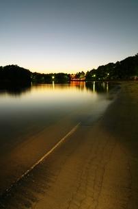 夜の浜辺の写真素材 [FYI00254894]