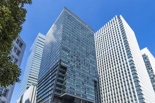 大手町の高層ビル群の写真素材 [FYI00254936]