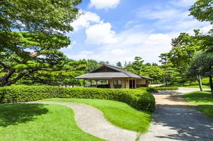 昭和記念公園の日本庭園の素材 [FYI00255111]