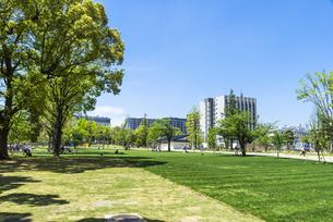 中野駅北口再開発エリア中野セントラルパーク/四季の森公園の写真素材 [FYI00255116]