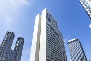 新宿副都心の高層ビル街の素材 [FYI00255207]