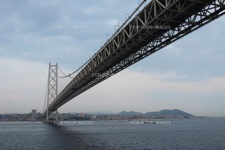 明石海峡大橋の写真素材 [FYI00255209]