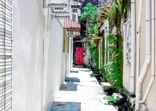 マレーシアの路地裏の写真素材 [FYI00255313]