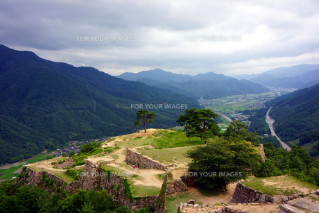 竹田城跡の写真素材 [FYI00255531]