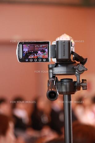 ビデオ撮影の写真素材 [FYI00255605]
