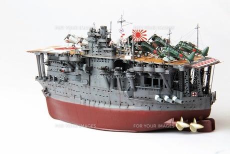 艦船模型の写真素材 [FYI00255608]